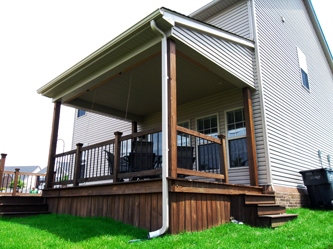 Superior Home Improvements  Deck Cover, Siding, Gutters & Roof: Lexington, Ky.