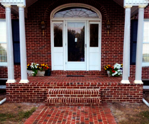 Sidewalk & Column Replacement: Georgetown, Ky.  Superior Home Improvements
