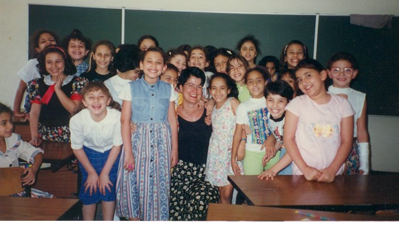 In 1996, I taught a second grade class at a German school in Cairo. The class consisted of 26 Egyptian girls. It was loud, but fun.