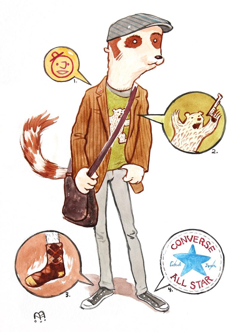 Day Dreamer Ring Tailed Lemur