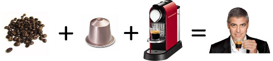 Nespresso is cool.