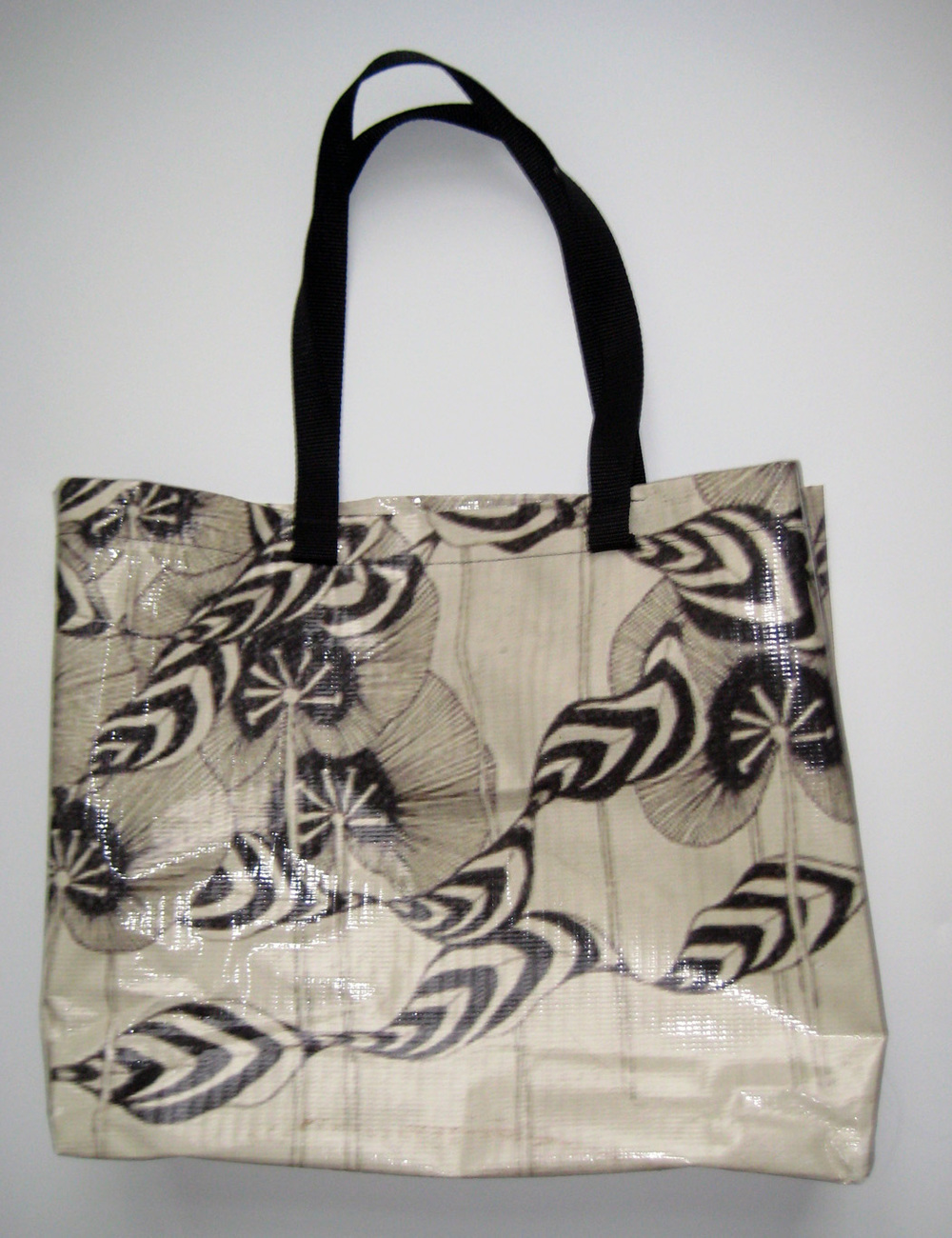 Bag made from canvas displayed (see pic below)for ArtBridge at Chelsea Terraces