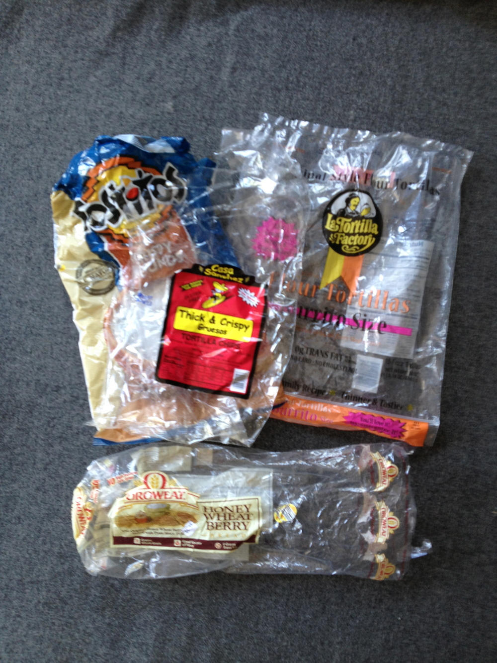 Bread, Tortilla, & Chip Bags