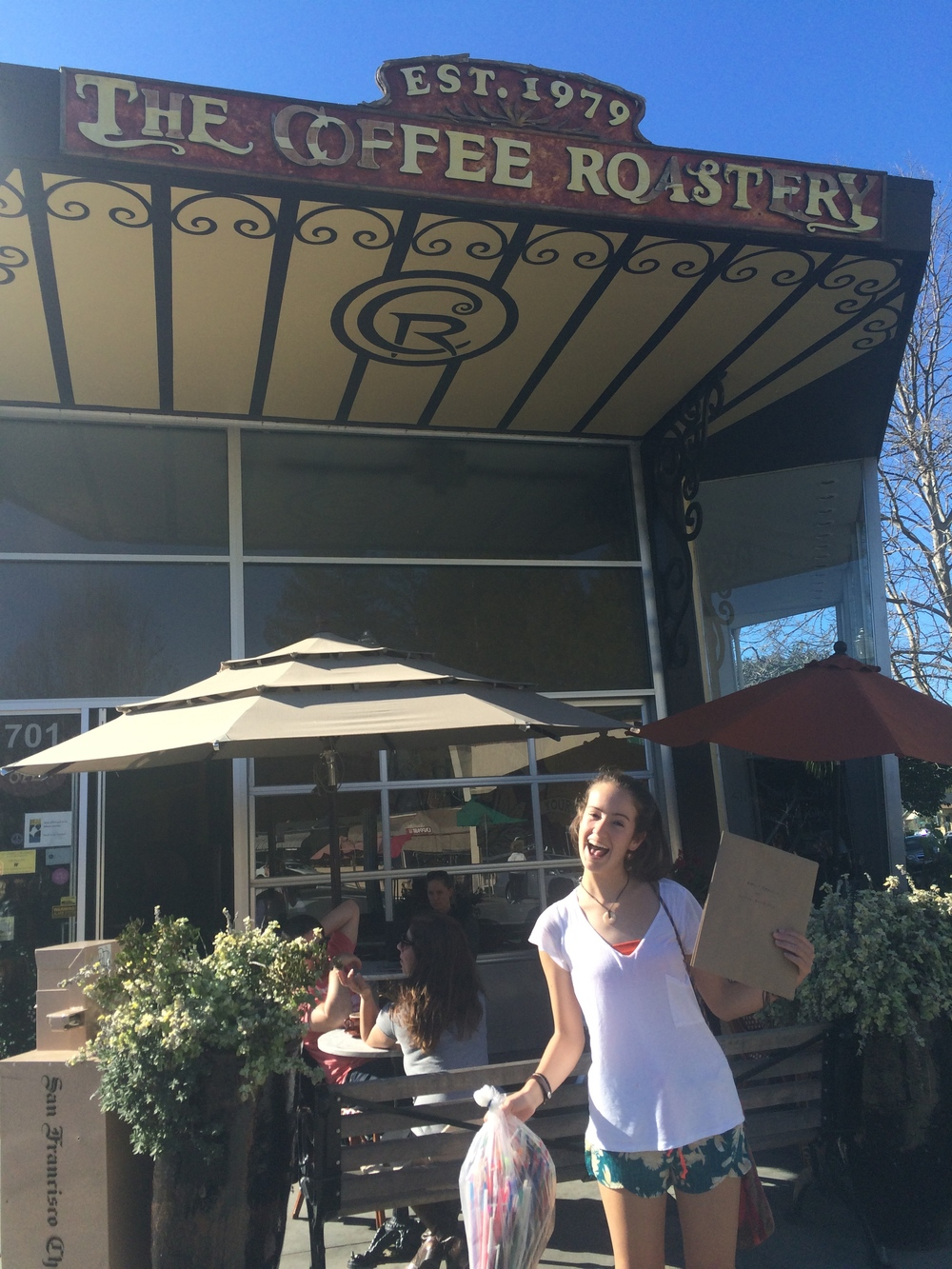 Rylie at Coffee Roastery