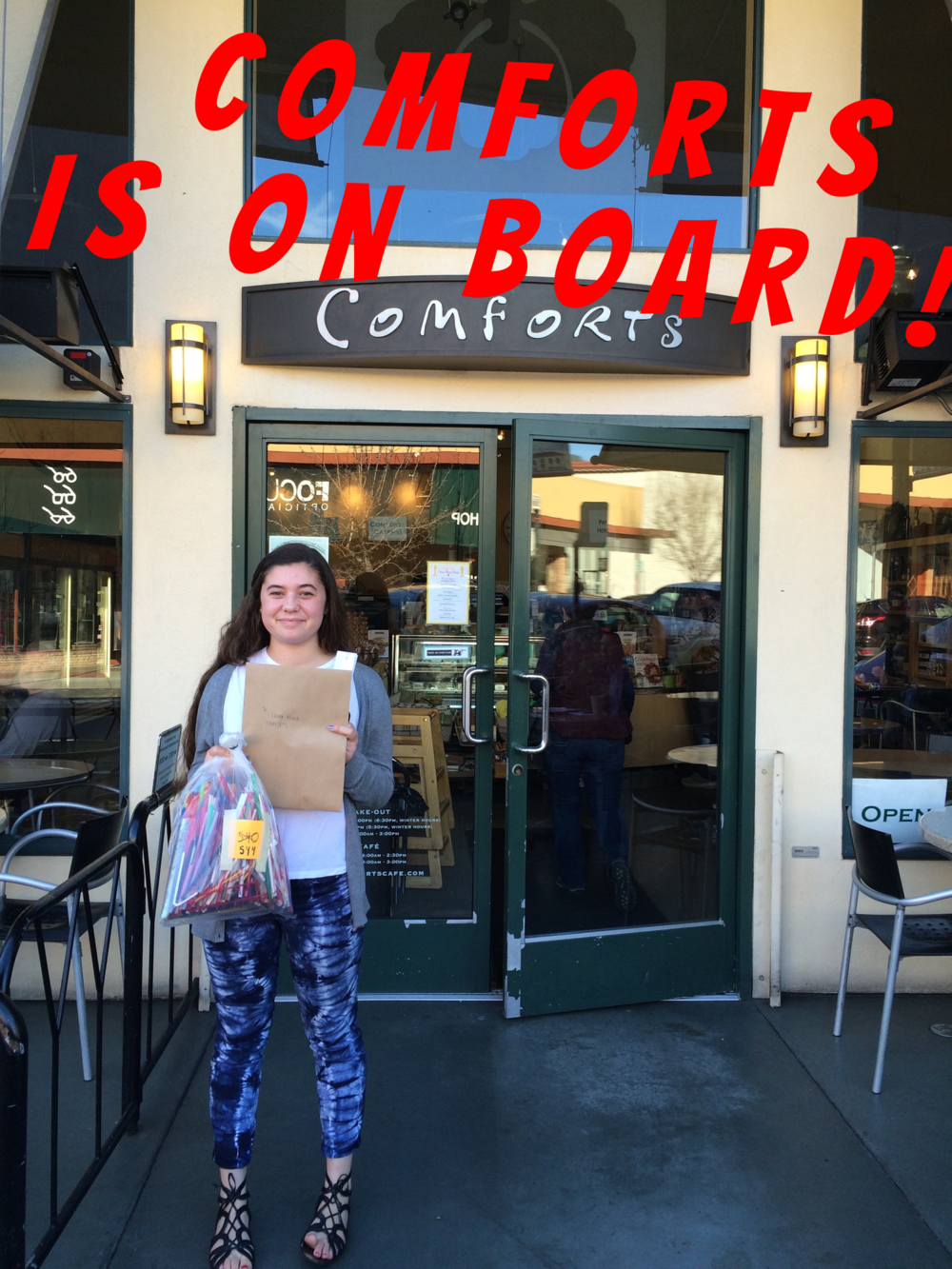 Alessia at Comforts