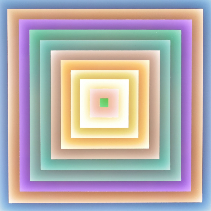 a morphing frank stella - Betty Rieckmann 2014