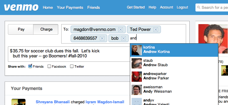 Checkout what we have been working on at Venmo !