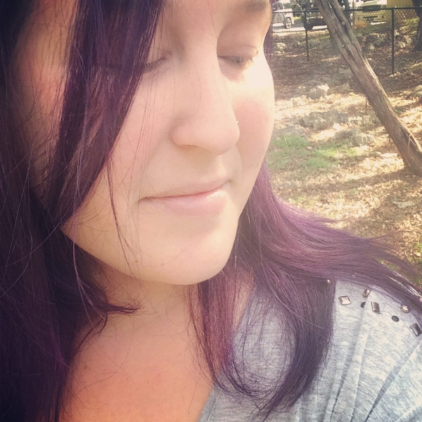 I dyed my hair purple and fell in love.