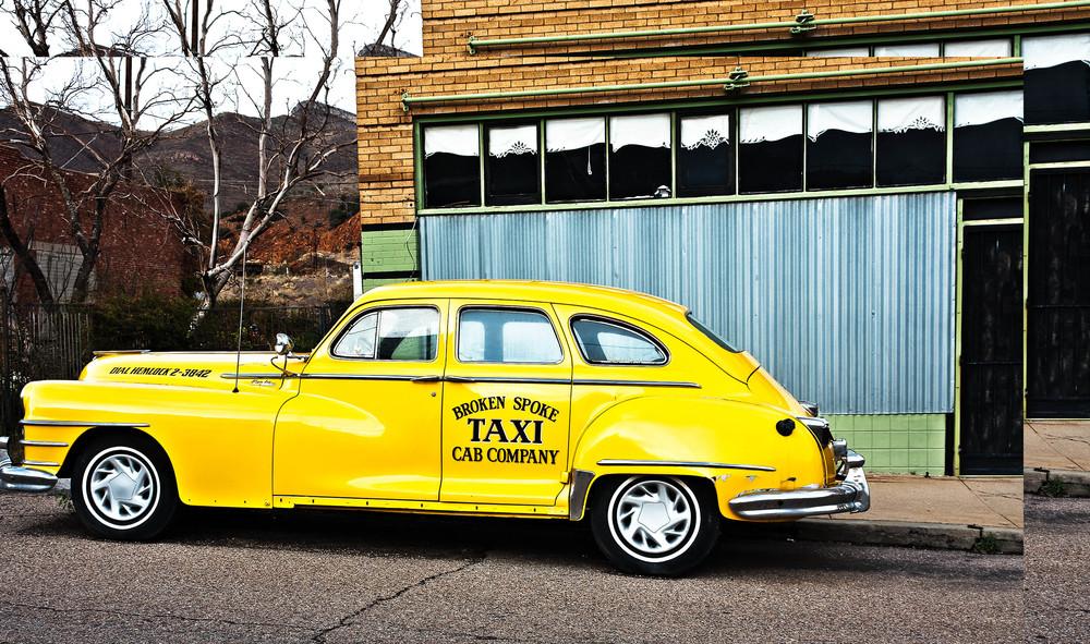 Yellow Cab, Bisbee, AZ