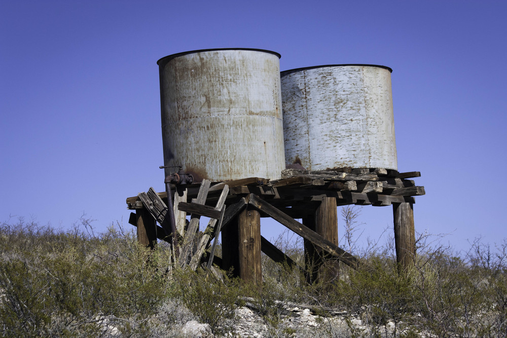 Water Tanks, Lake Valley, NM