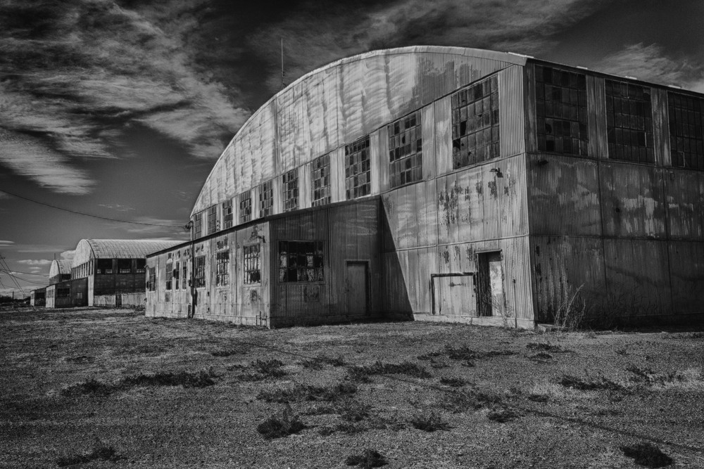 WW II Hanger, Deming, NM