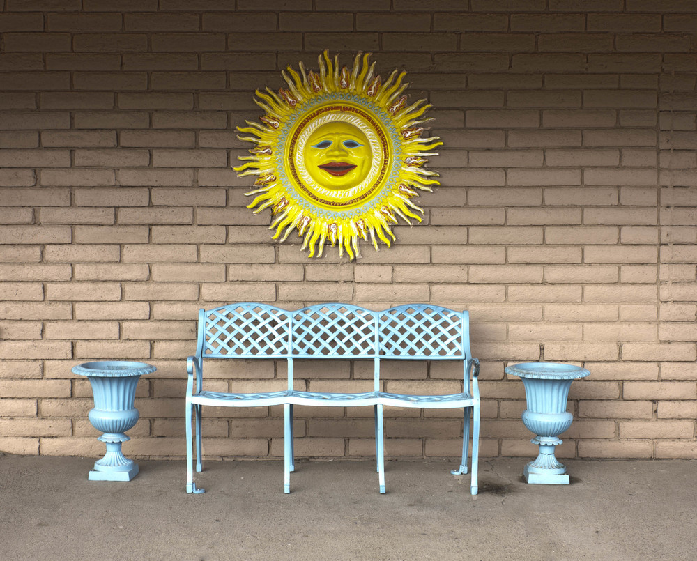 Bench, Columbus, NM