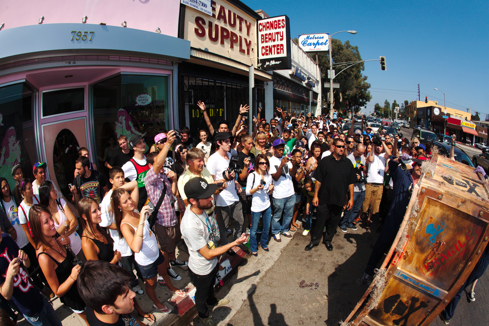 Johnny Cupcakes L.A. Store Opening