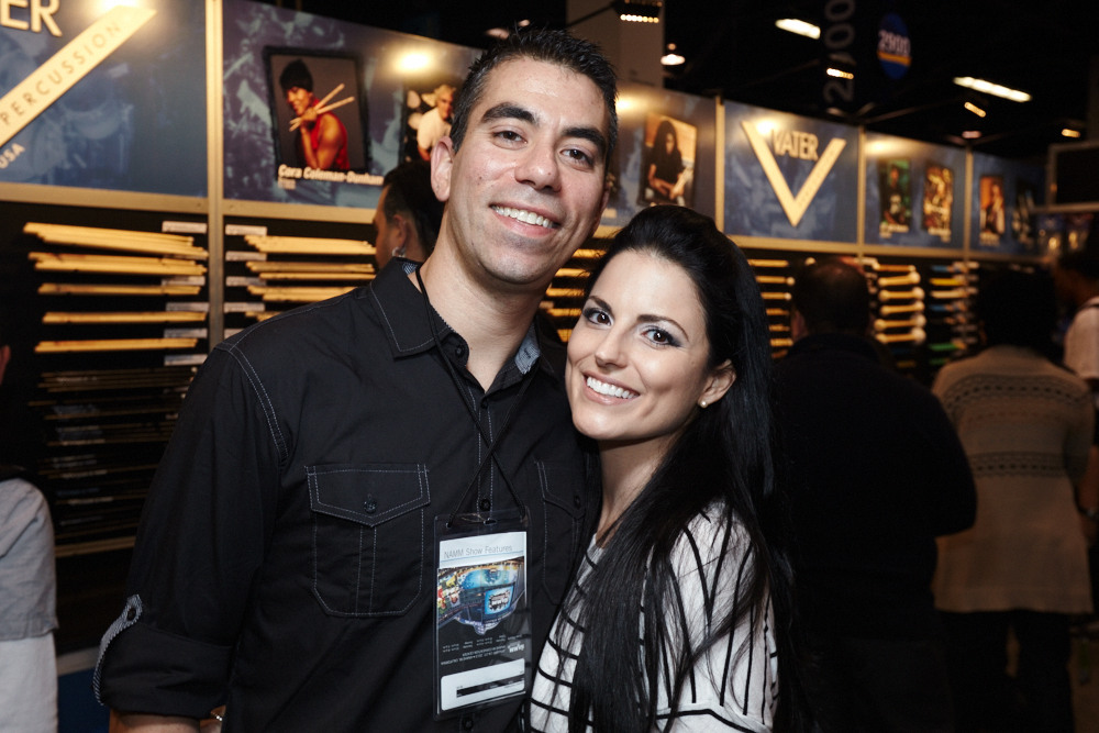 Cyrus Bolooki [New Found Glory] & Fiance