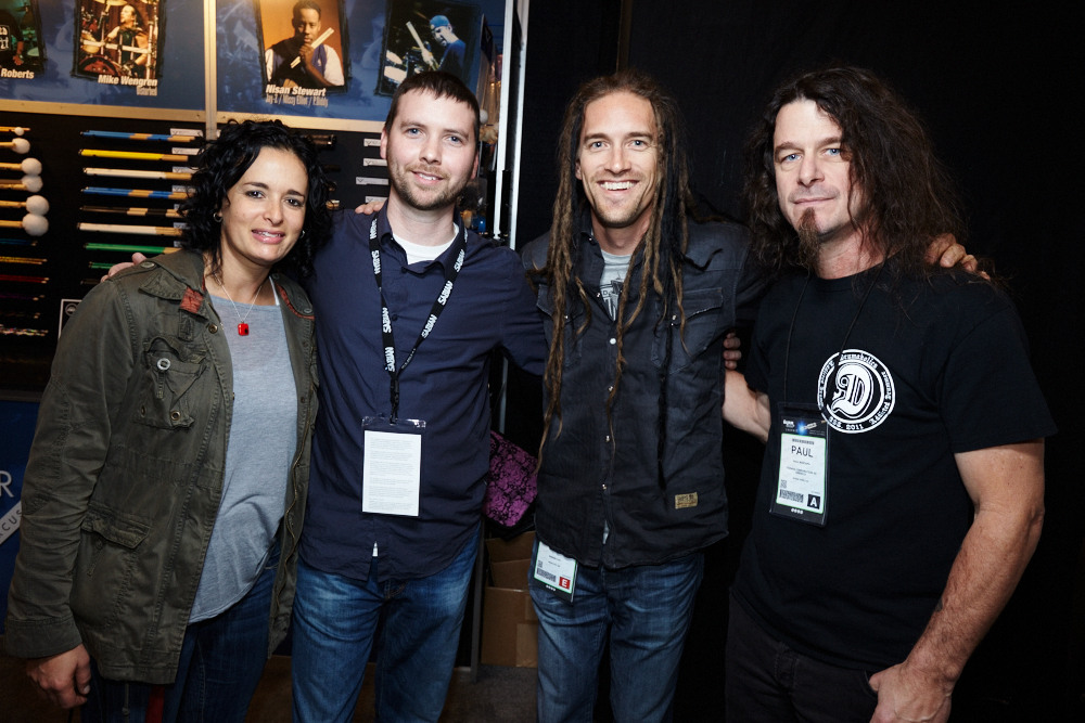 Jen Lowe // Jeffrey Jones // Nick Oshiro [Blue Man Group] // Paul Bostaph