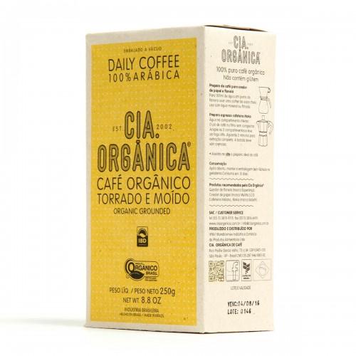 Café Orgânico da CIA ORGÂNICA: R$20