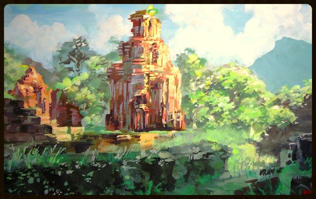 My So'n Temple Ruins               Khoa Tran