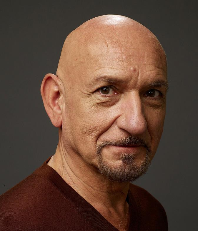COLLABORATING ARTIST -  SIR BEN KINGSLEY