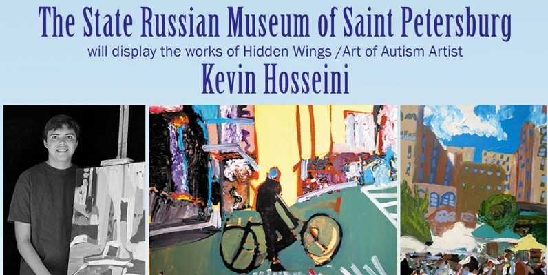 Kevin Hosseini  A young man whose work has graced Washington, D.C. and St. Petersburg, Russia can't find a friendly face in his own home town