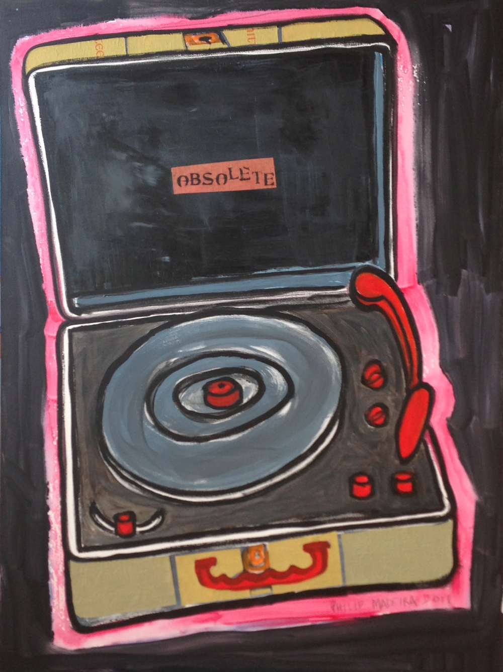 """Obsolete"", acrylic on canvas, 2011"