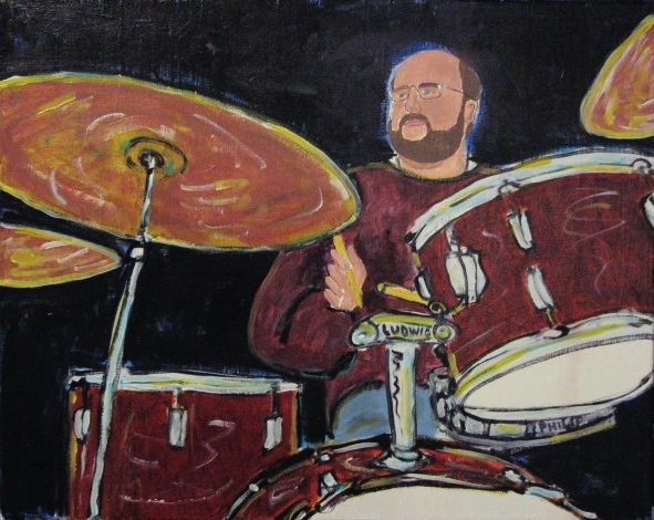 Bryan Owings, acrylic on canvas, 2008