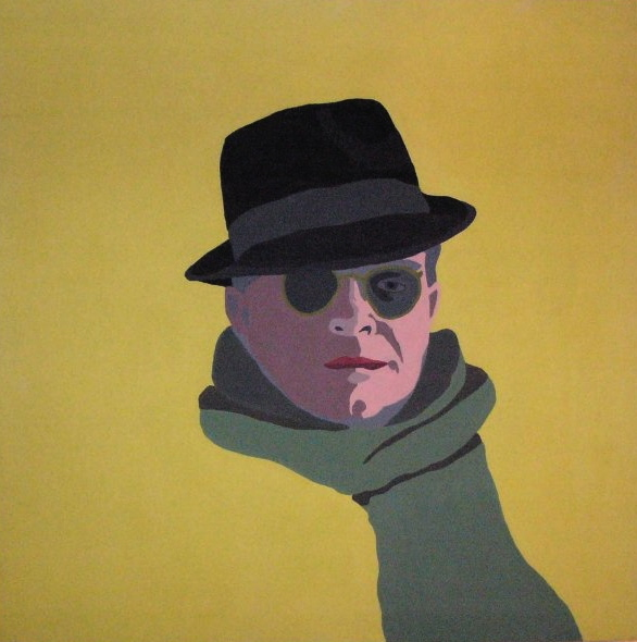 Truman Capote, acrylic on canvas, 1973