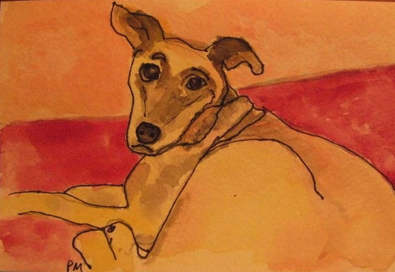 Keeta, watercolor, 2008