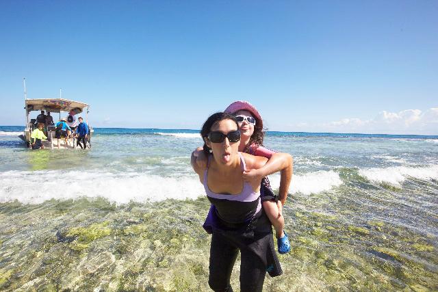 Lady Elliot Island, Australia manta ray visit