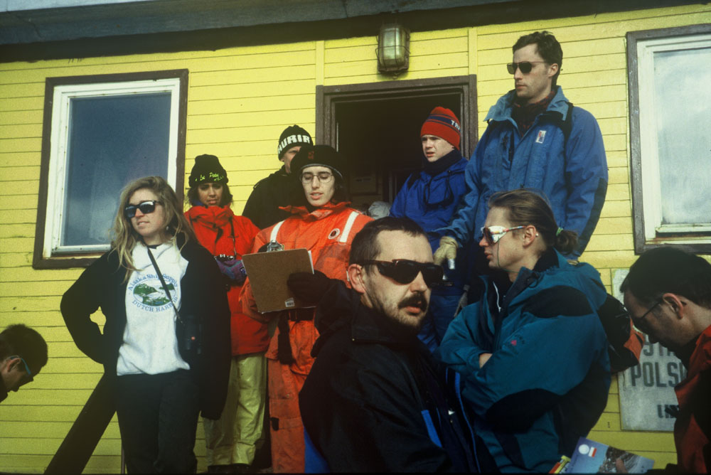 Carol Devine, Arctowski station Antarctica