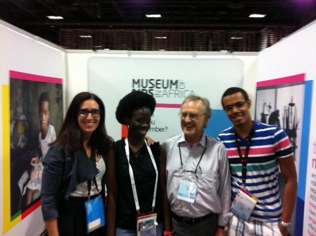 Carol Devine, Maureen Agena, Stephen Lewis, Anton Mwewa