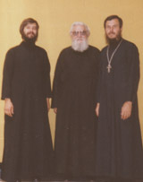 Priest Theodore Jurewicz, Deacon Akyndin Alex, and Priest Pimen Simon