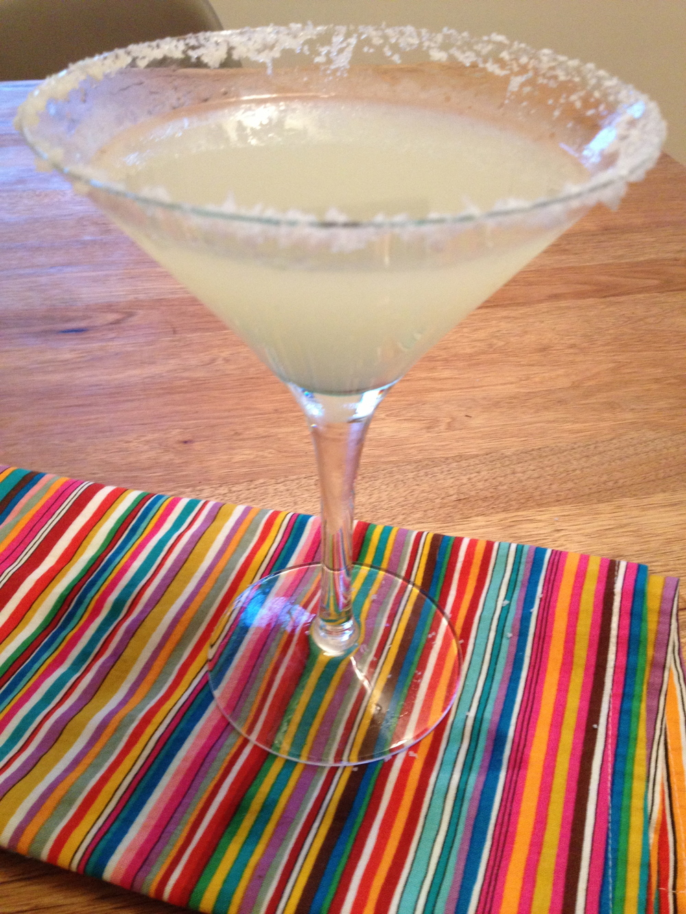 The best home-squeezed margarita ever!