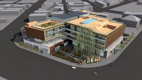 Rendering of the proposed Ray Hotel. Image: Venice Neighborhood Council