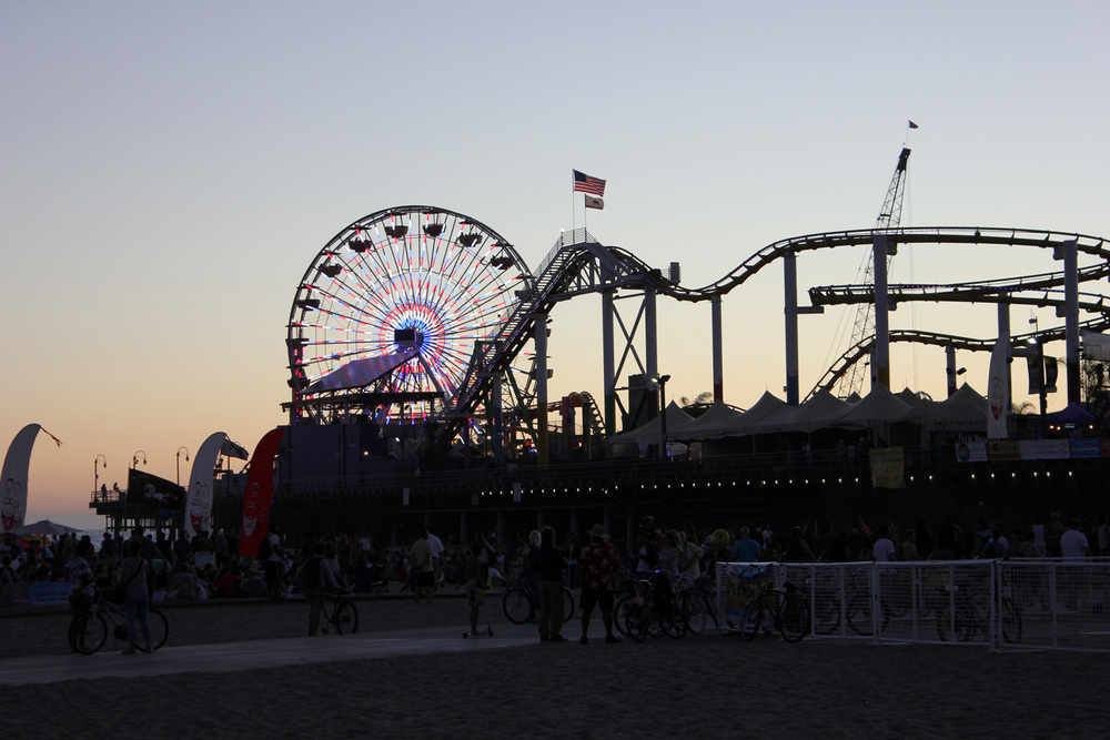 Santa Monica Pier Twilight Concert