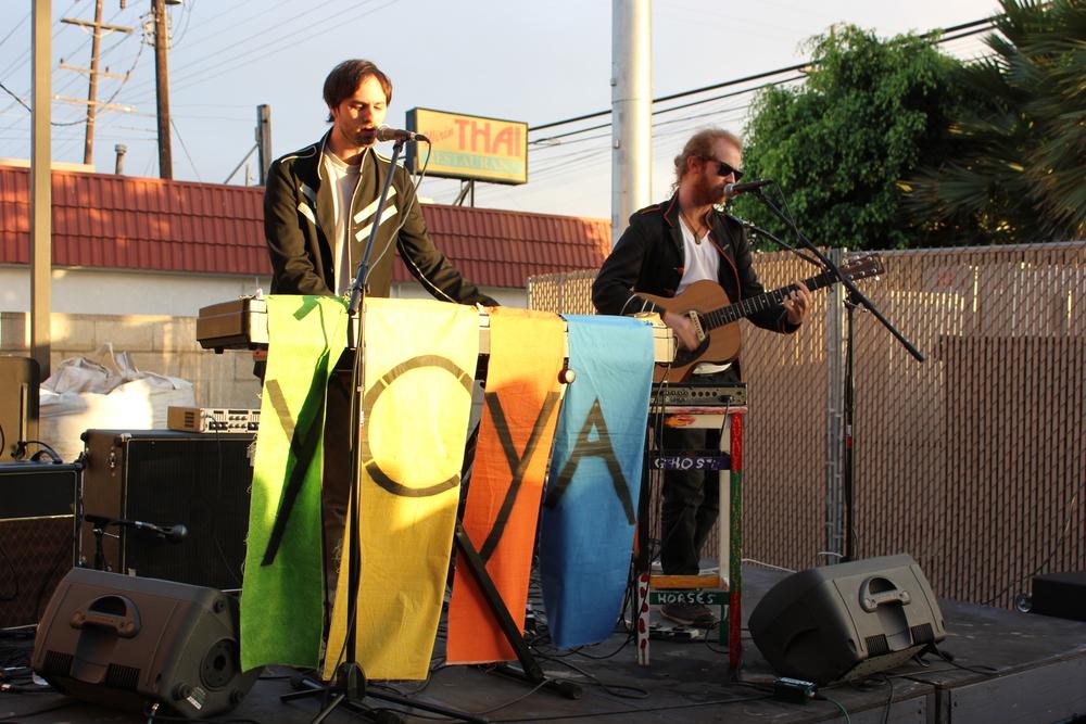 Yoya at The Boys & Girls Club Venice. (Photo by Glennie Rabin)