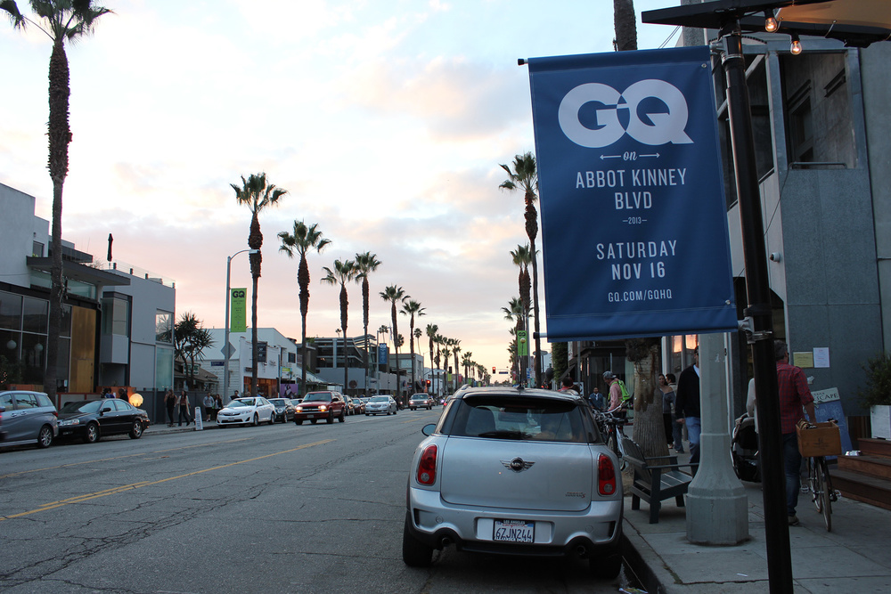 GQ collaborates with Abbot Kinney shops to take over for a day offering special discounts and in-store events. (Photo by Glennie Rabin)
