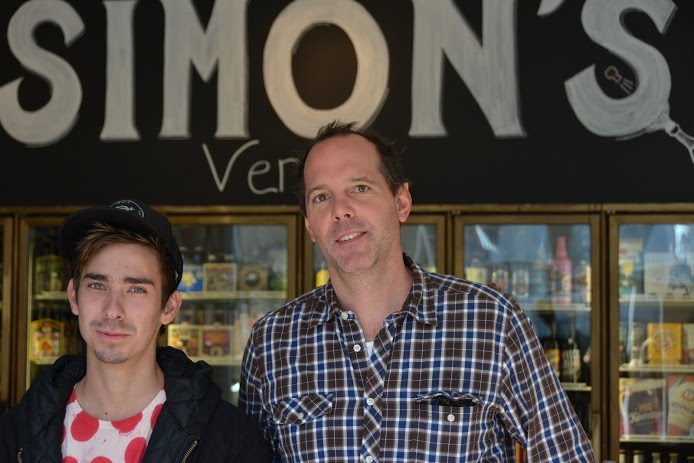Simon's Provisions owners: Josh Montoya and Simon Mellor. (Photo by Angelina Attwell)