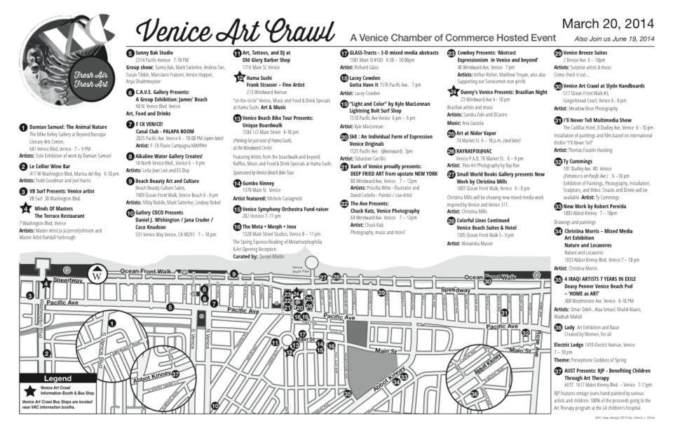 Venice Art Crawl Map March 2014.png