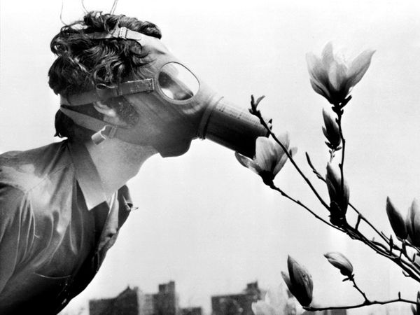 Earth Day 1970 Photo: AP