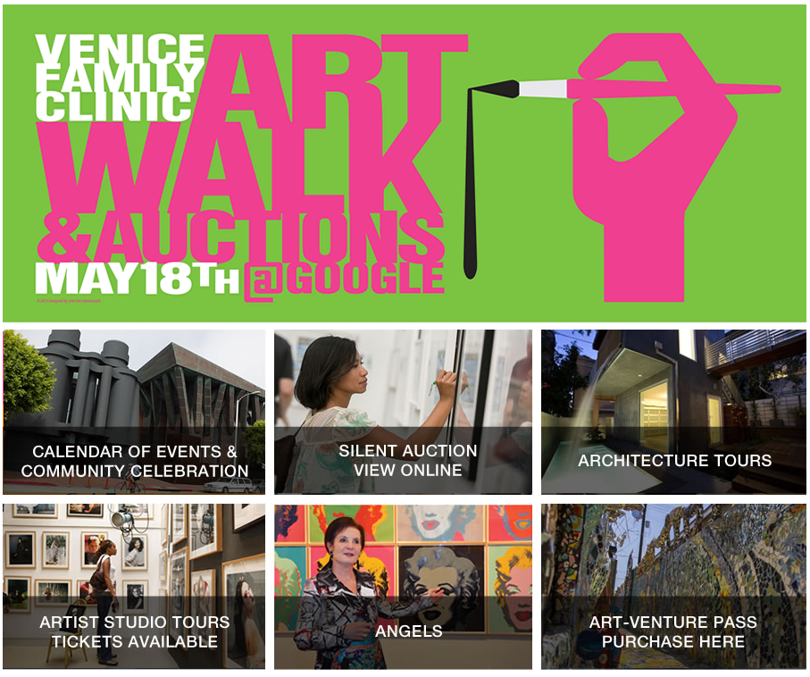 Venice Art Walk & Auctions - May - Lincoln & Rose
