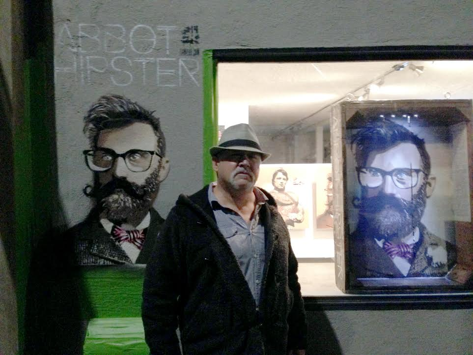 """Abbot Hipster"" at World Wide Mind on Abbot Kinney."