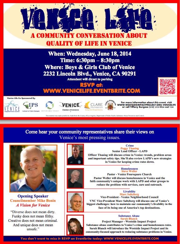 Venice Life Town Meeting