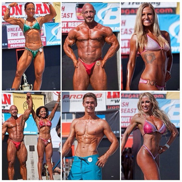 Muscle Beach International Classic overall winners. ( Photo:  Muscle Beach Venice  )