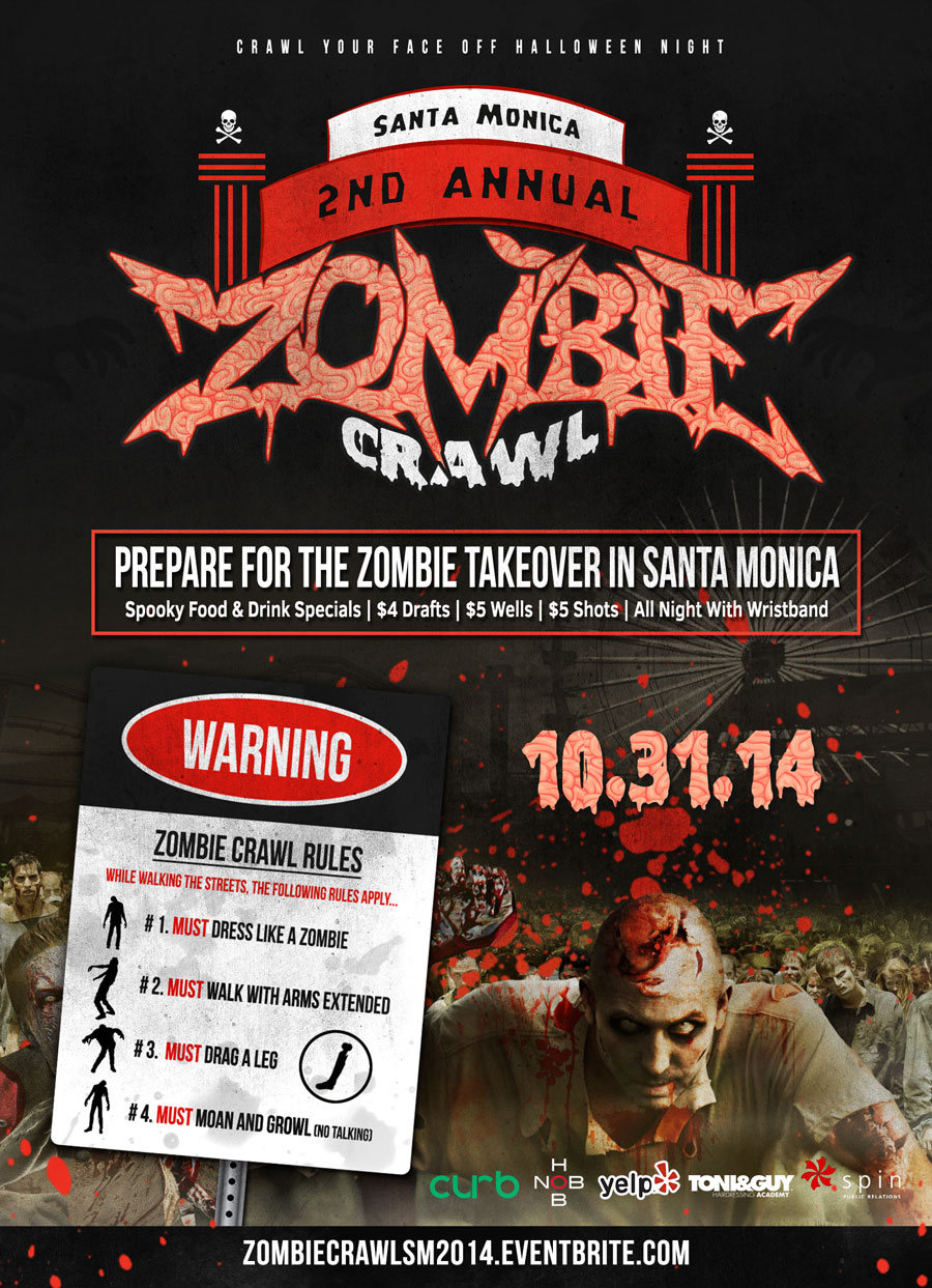 Santa Monica Zombie Crawl