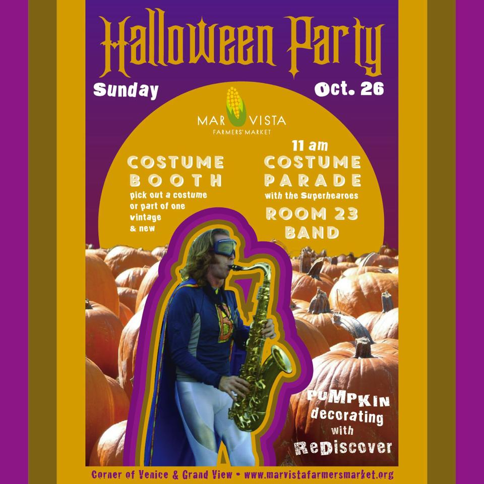 Mar Vista Farmers' Market Halloween Party