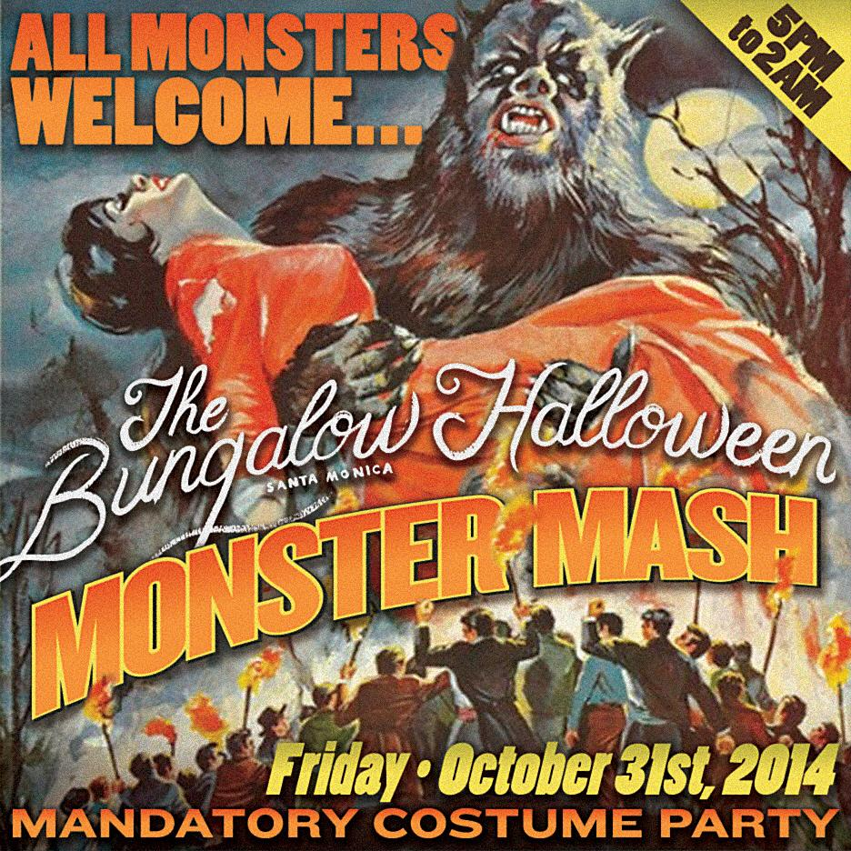 Bungalow Alehouse: The Bungalow's Monster Mash Halloween Party