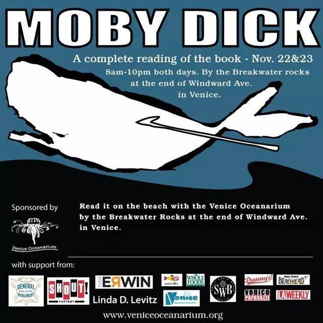 MOBY DICK READING