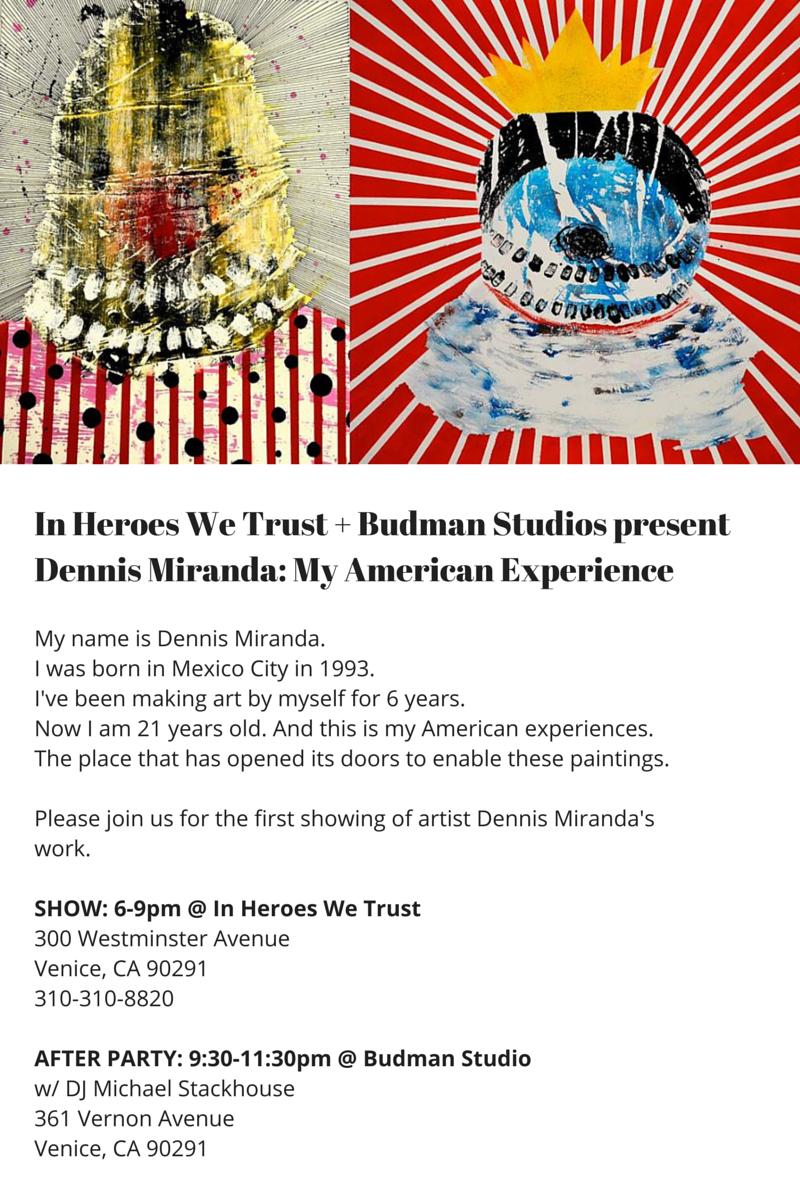 Dennis Miranda Art Show