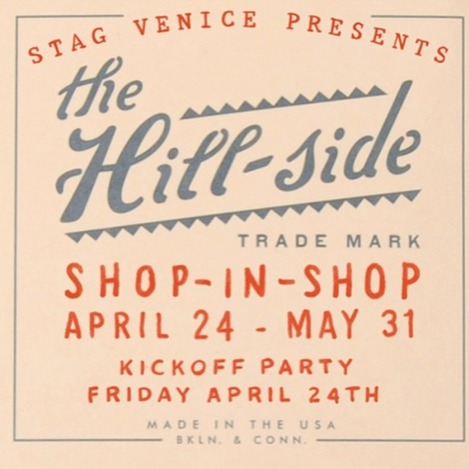 The Hill-side Stag Venice