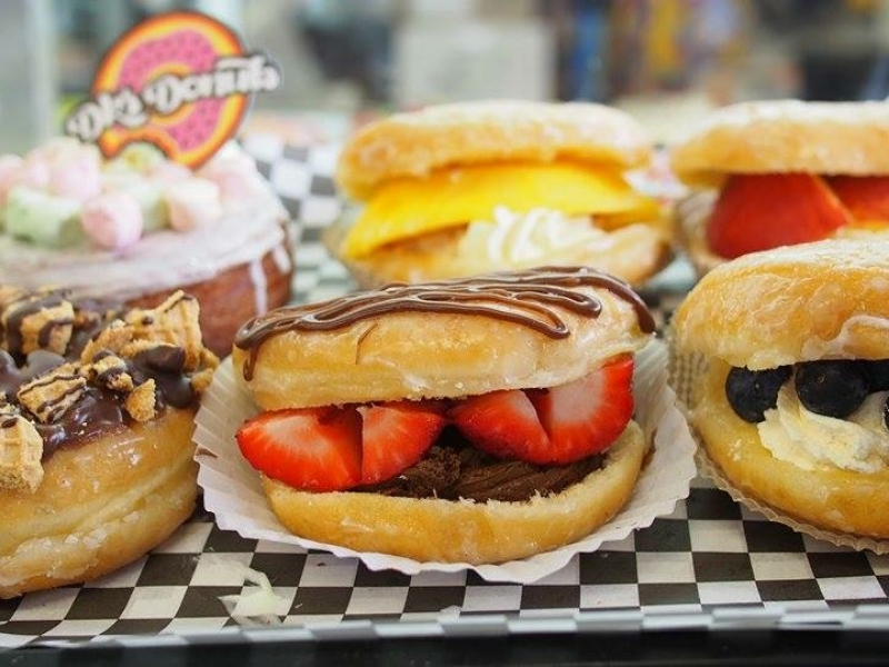 Photo courtesy To Live And Dine In L.A. for DK's Donuts